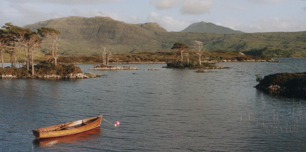 fishing in Loch Assynt